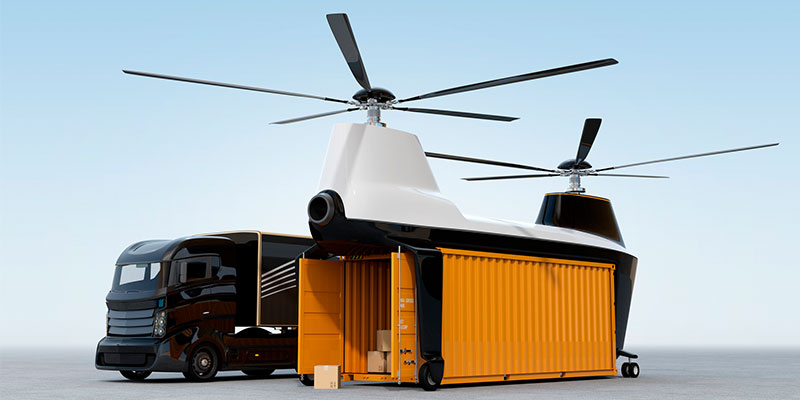 Forget Package Delivery Drones – Here Come Autonomous Containers