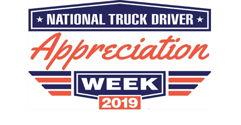 National Driver Appreciation Week