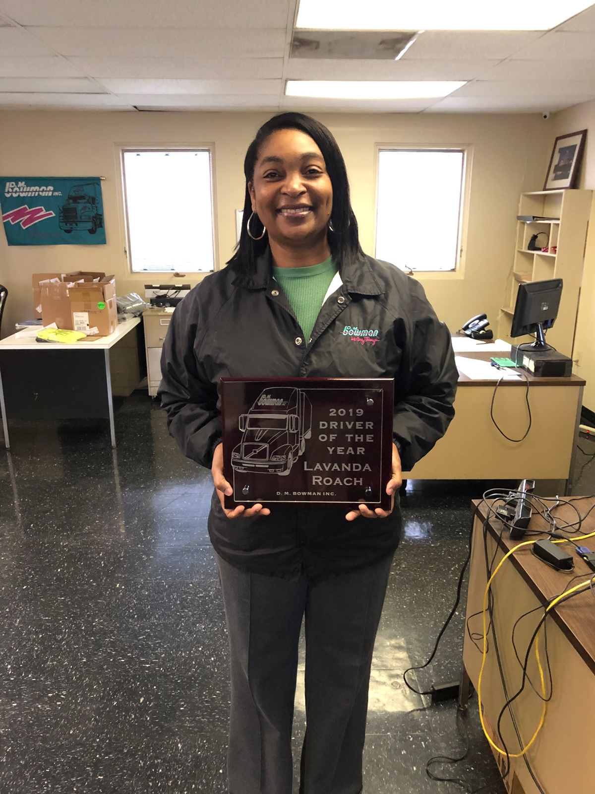 2019 Driver of the Year – Lavanda Roach