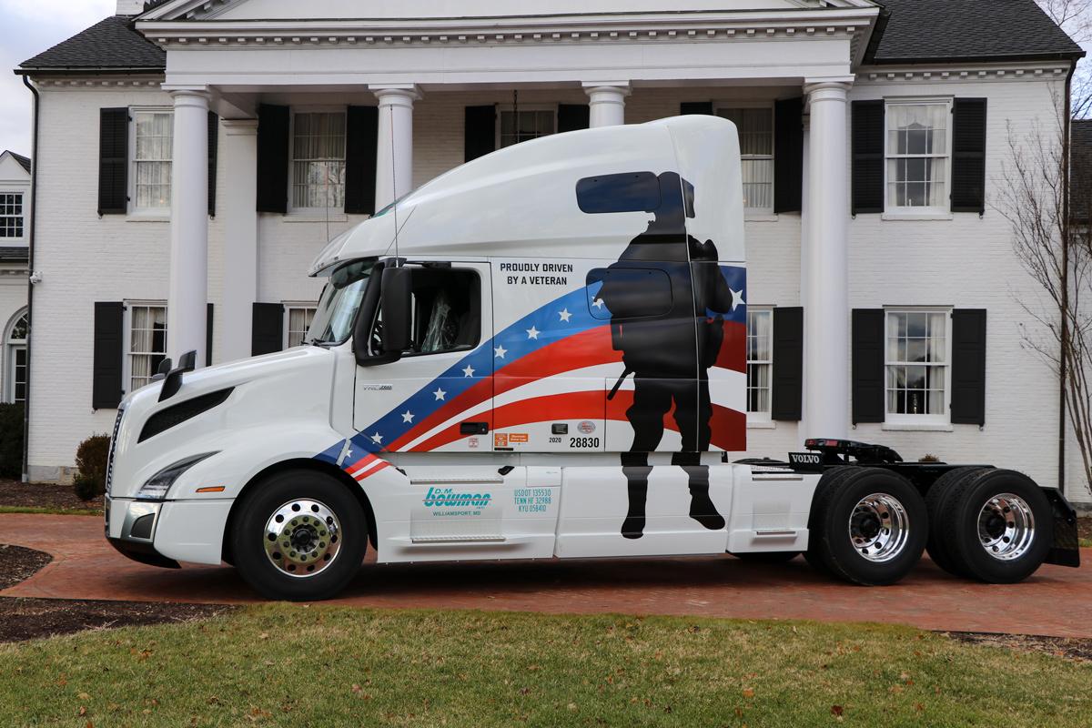 D.M. Bowman's New Veteran Tribute Truck
